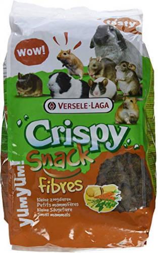 Versele-Laga Cryspy Snack Fibres - kiegészítő eleség rágcsálóknak (650g)