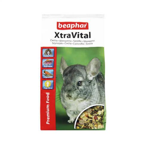 Beaphar Xtra Vital  - Teljesértékű eleség csincsillák részére (1kg)