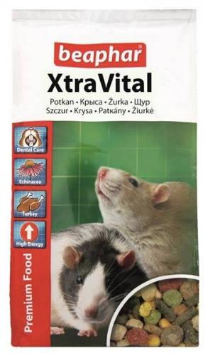 Beaphar Xtra Vital - teljesértékű eleség patkányoknak (500g)