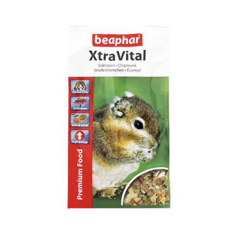 Beaphar Xtra Vital  - Teljesértékű eleség mókusnak (800g)