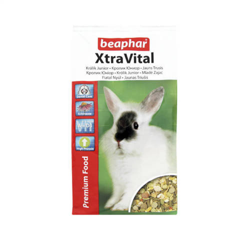 Beaphar Xtra Vital junior - Teljesértékű eleség nyulaknak (1kg)