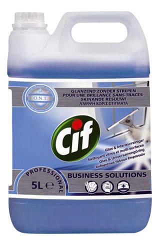 Cif Prof. Window & Multi Surface ablak- és felület tisztítószer 5 liter