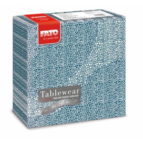 Fato Mosaic Alaska textilhatású szalvéta 40x40 cm 50 db/csomag