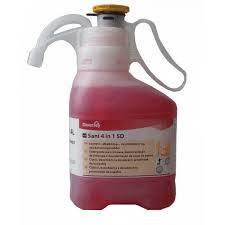 TASKI Sani 4 in 1 SD koncentrált tisztító-, fertőtlenítőszer, vízkőoldó és illatosító hatással 1,4 l