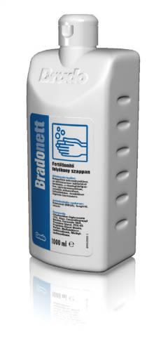 Bradonett fertőtlenítő folyékony szappan és betegfürdető 1 l
