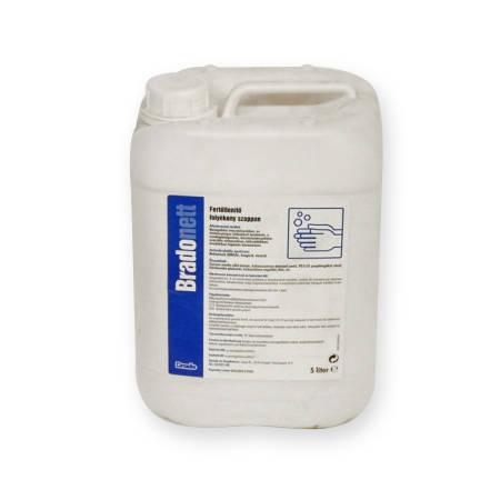 Bradonett fertőtlenítő folyékony szappan és betegfürdető 5 l
