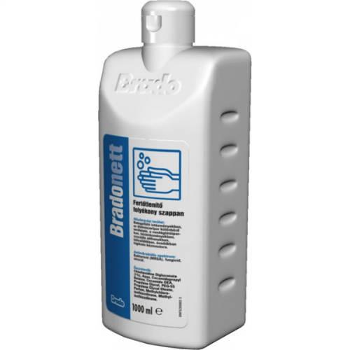 Bradonett fertőtlenítő folyékony szappan és betegfürdető 500 ml