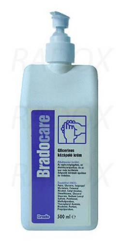 Bradocare kézápoló és kézvédő krém 500 ml pumpás