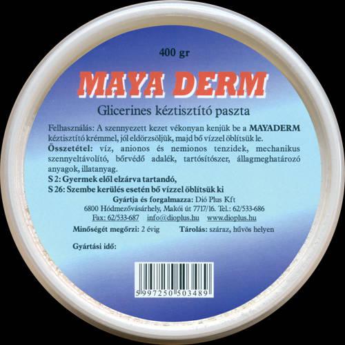 Maya Derm glicerines kéztisztító paszta 400 g