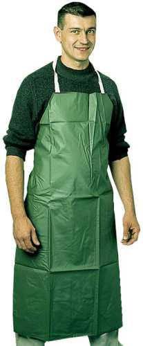 Saválló pvc kötény zöld 110x75 cm 1 db