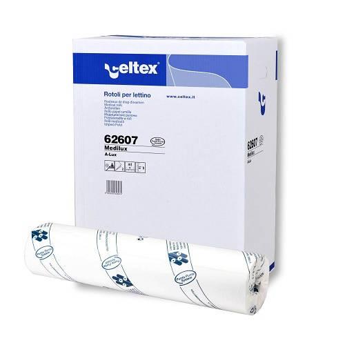 Celtex orvosi lepedő Medilux five 2 rétegű, 60 cm széles, 80 m/tekercs