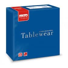 Fato textilhatású szalvéta sötétkék 40x40 cm 50 db/csomag A KÉSZLET EREJÉIG!