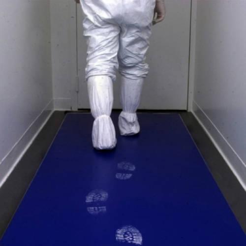 Sticky Mat ragacsos lábtörlő 115x45 cm 60 lap/db kék és fehér színben
