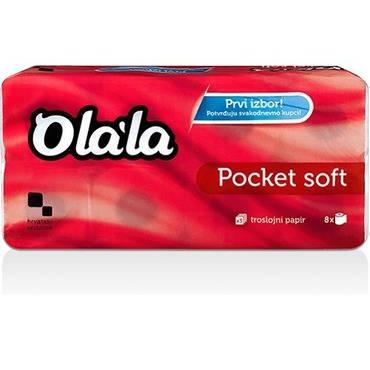 Olala Pocket Soft toalettpapír 3 rétegű 150 lapos 96 tekercs/karton
