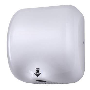 Rozsdamentes elektromos kézszárító 1800W fehér