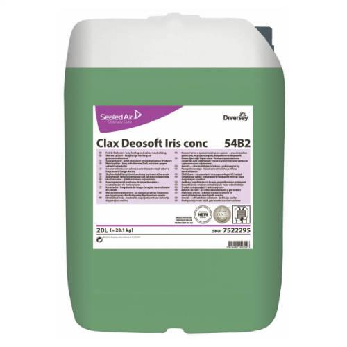 Clax Deosoft Iris conc. 54B2 prémium minőségű öblítő koncentrátum szagsemlegesítővel 20 l