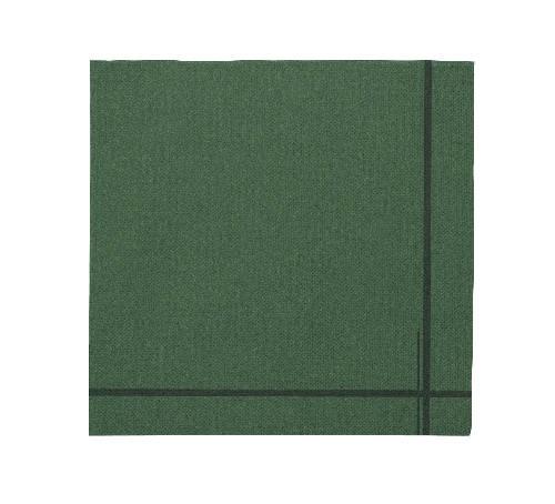 Tork Premium szalvéta 40 zöld, keretmotívummal 100 db/csomag, KIFUTÓ TERMÉK!!!
