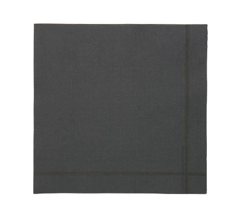 Tork Premium szalvéta 40 fekete, keretmotívummal 100 db/csomag KIFUTÓ TERMÉK!