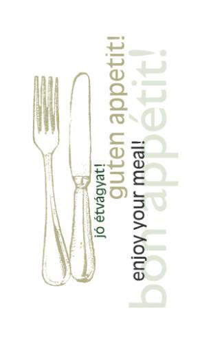 Tork Jó étvágyat Lunch szalvéta 1/8 hajt. 2 rétegű 250 db/csomag A KÉSZLET EREJÉIG!