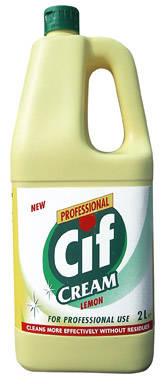 Cif Prof. Cream Lemon folyékony súrolószer 2 l