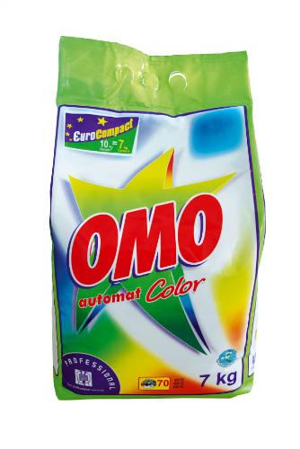OMO Professional Color mosópor színes textíliákhoz 7 kg
