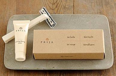 Prija borotválkozó szett, dobozban