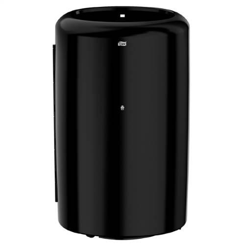 Tork hulladékgyűjtő, 50 literes, fekete