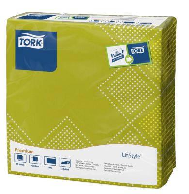 Tork Linstyle Natural Oxford Dinner szalvéta 50 db/csomag KIFUTÓ, A KÉSZLET EREJÉIG!