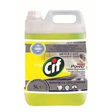 Cif Prof. Power Cleaner Degreaser Erőteljes tisztító- és zsíroldószer 5 liter