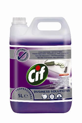 Cif Prof. 2 in 1 Cleaner Disinfectant Conc kézi mosogató-, tisztító- és fertőtlenítőszer 5 l
